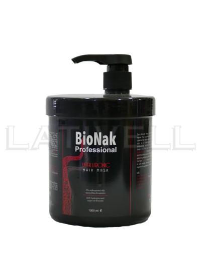 Μάσκα με Υαλουρονικό Οξύ Bionak 1000ml στα 2 τμχ το 3 δώρο